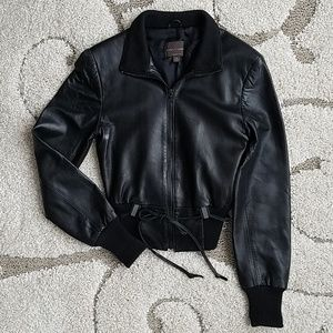 Butter soft black leather jacket